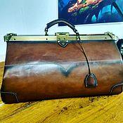 Сумки и аксессуары handmade. Livemaster - original item Bag made of genuine vegetable-tanned leather. Handmade.