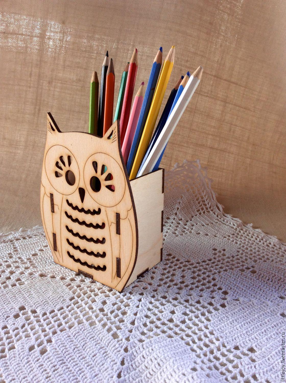 Картинки карандашница из дерева
