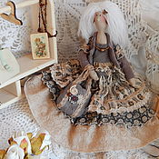 Куклы и игрушки ручной работы. Ярмарка Мастеров - ручная работа Бохо тильда Пальмира. Handmade.