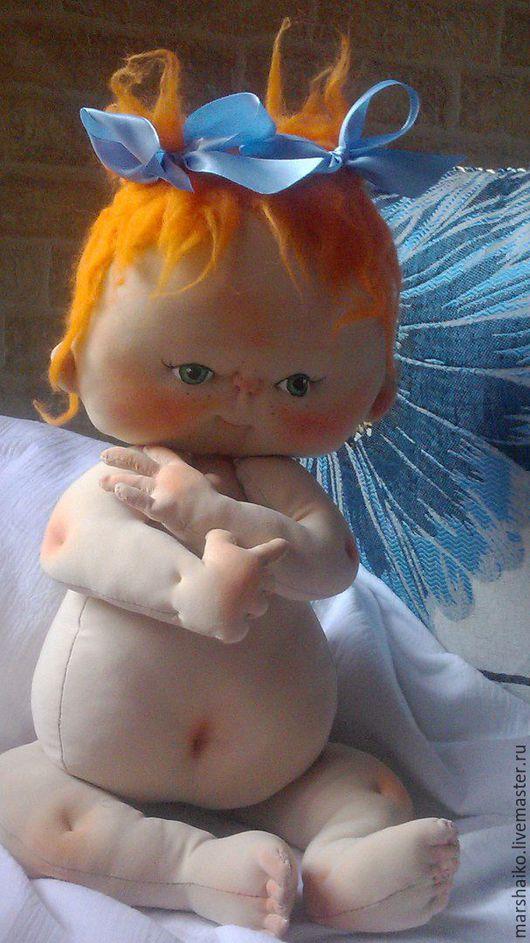 Коллекционные куклы ручной работы. Ярмарка Мастеров - ручная работа. Купить Текстильный пупс. Handmade. Текстильная кукла, игрушка в подарок