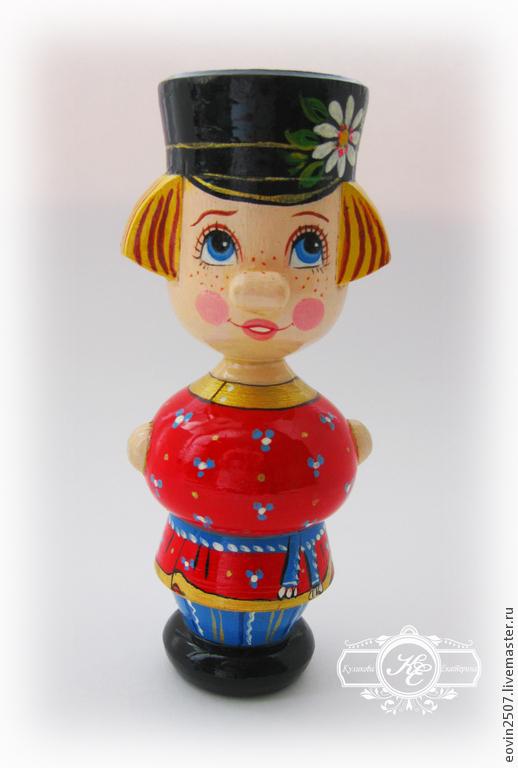 Кукла деревянная `Иванушка`