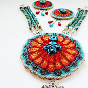 "Jewelry Sets handmade. Livemaster - original item Комплект украшений ""Arunima"". Handmade."