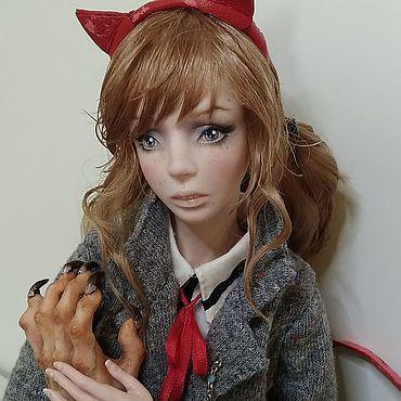 Куклы и игрушки ручной работы. Ярмарка Мастеров - ручная работа Фарфоровая шарнирная кукла Роуз. Handmade.