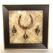 Картины и панно handmade. Livemaster - original item The housekeeper openwork horseshoe hooks. Handmade.