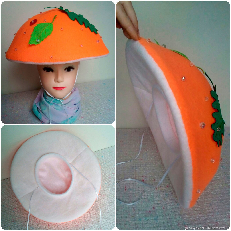 Как сделать грибную шляпу фото 575