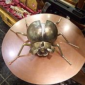 Для дома и интерьера ручной работы. Ярмарка Мастеров - ручная работа жук носорог скульптура из металла кованая для интерьера статуэтка. Handmade.