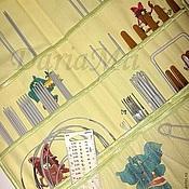 """Материалы для творчества ручной работы. Ярмарка Мастеров - ручная работа Органайзер для спиц и крючков """"Маленькая Бяка!"""". Handmade."""