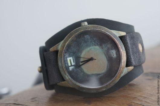 """Часы ручной работы. Ярмарка Мастеров - ручная работа. Купить Часы мужские  """"Старинный компас"""". Handmade. Часы наручные, модные"""