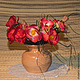 """Вазы ручной работы. Ярмарка Мастеров - ручная работа. Купить Вазочка для цветов """"Кантри"""". Handmade. Бежевый, ваза керамика, керамика"""