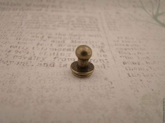 Другие виды рукоделия ручной работы. Ярмарка Мастеров - ручная работа. Купить Кабурная кнопка 7058 антик. Handmade.