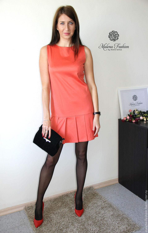 dcfbef52f1a Платья ручной работы. Ярмарка Мастеров - ручная работа. Купить Платье из  итальянского трикотажа короткое ...