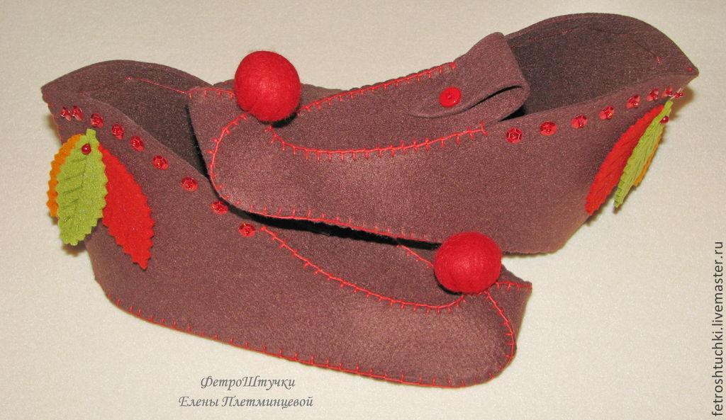 Обувь для гнома для мальчика своими руками