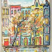 """Картины и панно ручной работы. Ярмарка Мастеров - ручная работа Графика """"Амстердам"""" формат А4. Handmade."""