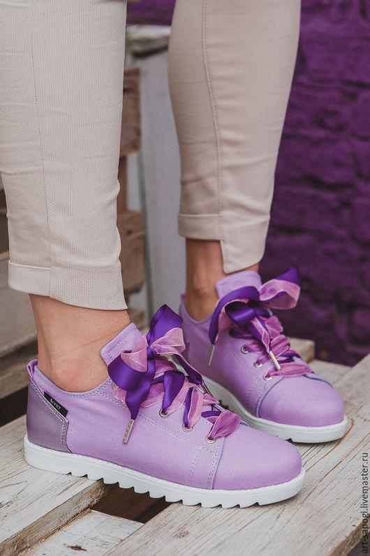Обувь ручной работы. Ярмарка Мастеров - ручная работа. Купить Кеды 12-333-35-s33 (СБ). Handmade. Мода