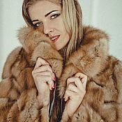 Одежда handmade. Livemaster - original item Marten fur coat. Handmade.