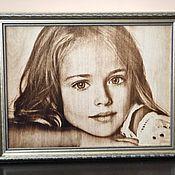 Фотокартины ручной работы. Ярмарка Мастеров - ручная работа Выжигание портретов. Оригинальный подарок на 14 февраля. Handmade.