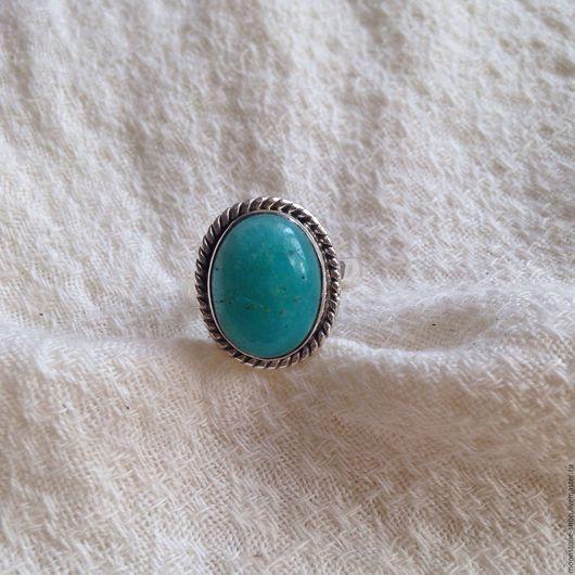 """Кольца ручной работы. Ярмарка Мастеров - ручная работа. Купить Кольцо """"Амазонит"""". Handmade. Бирюзовый, кольцо, голубой камень"""