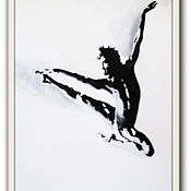 Картины и панно ручной работы. Ярмарка Мастеров - ручная работа картина 4 Балет- любовь моя. Handmade.