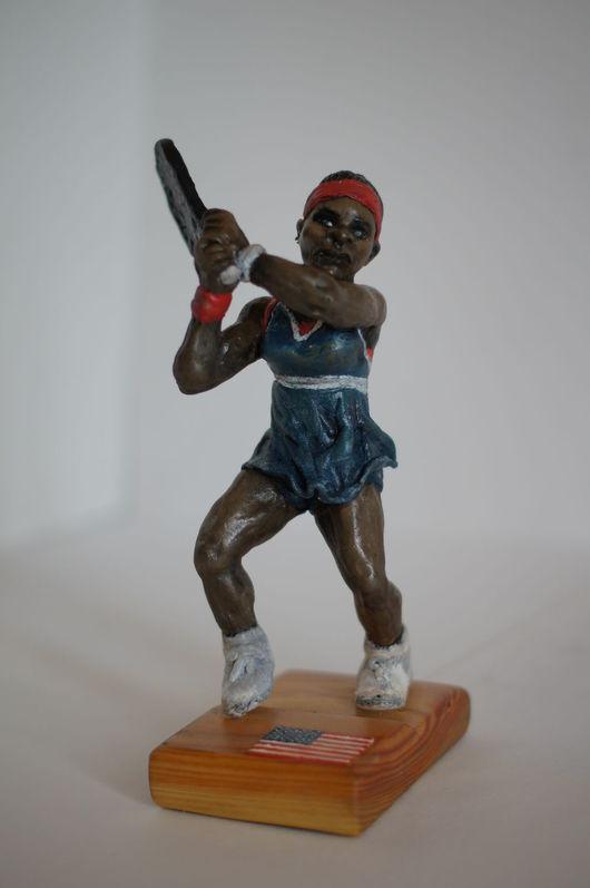 Миниатюрные модели ручной работы. Ярмарка Мастеров - ручная работа. Купить Статуэтка из полимерной глины Serena. Handmade.