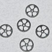 Материалы для творчества ручной работы. Ярмарка Мастеров - ручная работа Шестерни , коннекторы для украшений. Handmade.