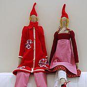 Куклы и игрушки ручной работы. Ярмарка Мастеров - ручная работа Рождественские Тильды. Handmade.
