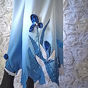 Одежда ручной работы. Ярмарка Мастеров - ручная работа брюки «Ирисы». Handmade.