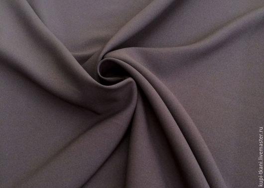 Шитье ручной работы. Ярмарка Мастеров - ручная работа. Купить Габардин темно-серый  Корея. Handmade. Габардин, ткань для творчества