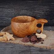 Посуда handmade. Livemaster - original item Cup(Kuksa)from platted-380 ml.. Handmade.