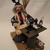 Куклы и игрушки ручной работы. Ярмарка Мастеров - ручная работа Баба Яга    Лесная модистка. Handmade.