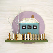 Для дома и интерьера handmade. Livemaster - original item Wooden panels