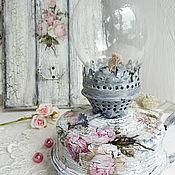 Для дома и интерьера handmade. Livemaster - original item Lamp kerosene Provence roses. Handmade.