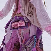 Одежда ручной работы. Ярмарка Мастеров - ручная работа бохо-брюки ВЕСНА-ЛЕТО. Handmade.
