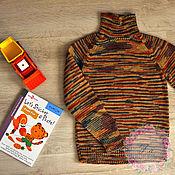 """Работы для детей, ручной работы. Ярмарка Мастеров - ручная работа Свитер для мальчика """"Полоски"""". Handmade."""