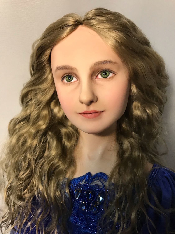 Портретная авторская кукла. Сонечка. Балерина, Портретная кукла, Омск,  Фото №1