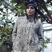 """Одежда ручной работы. Ярмарка Мастеров - ручная работа """"Валькирия"""" - пальто валяное. Handmade."""