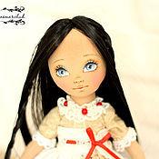 Куклы и игрушки ручной работы. Ярмарка Мастеров - ручная работа Текстильная кукла Дейзи. Handmade.
