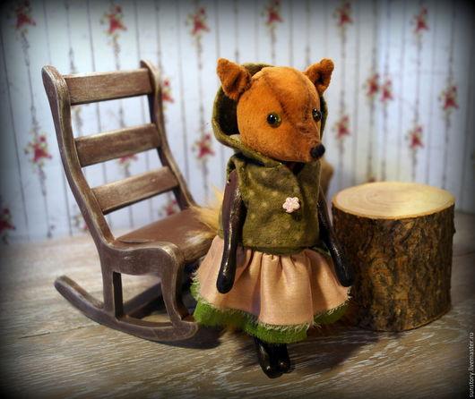 Мишки Тедди ручной работы. Ярмарка Мастеров - ручная работа. Купить Лисенок. Handmade. Рыжий, игрушка ручной работы, дерево