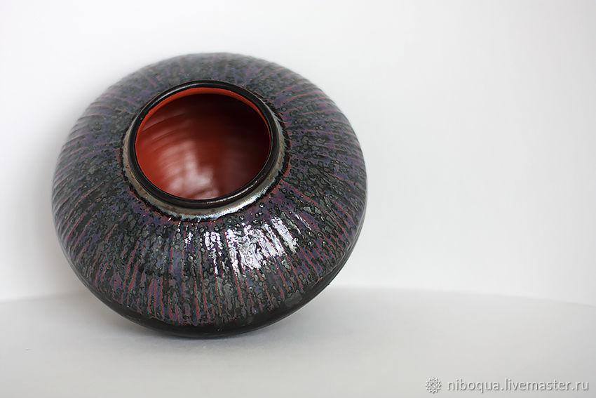 Ваза для цветов Гортензия - керамика
