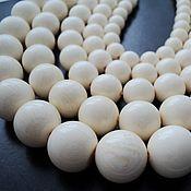 Материалы для творчества handmade. Livemaster - original item Ivory beads ball 10, 12, 14, 16, 18mm. Handmade.