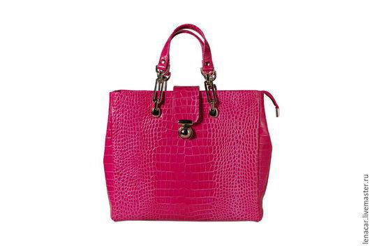 Женские сумки ручной работы. Ярмарка Мастеров - ручная работа. Купить Женская кожаная сумка 337. Handmade. Оригинальная сумка