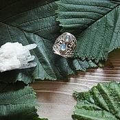 Украшения ручной работы. Ярмарка Мастеров - ручная работа Кольцо серебро 925 пробы лабрадорит. Handmade.