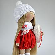 Куклы и игрушки ручной работы. Ярмарка Мастеров - ручная работа Интерьерная текстильная кукла July. Handmade.