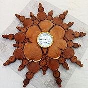 Для дома и интерьера ручной работы. Ярмарка Мастеров - ручная работа Термометр из можжевельника. Handmade.