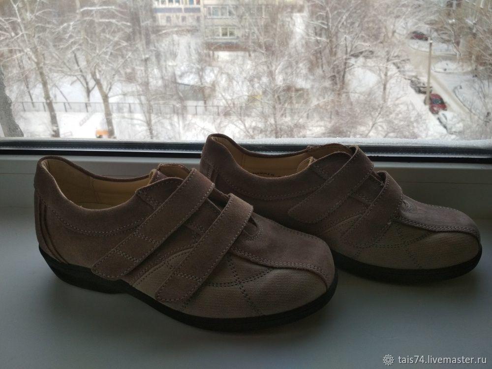 6310532cc Успешный, Винтажных Винтажная обувь. Заказать Винтаж: Кроссовки из  натуральной кожи женские Португалия 39.