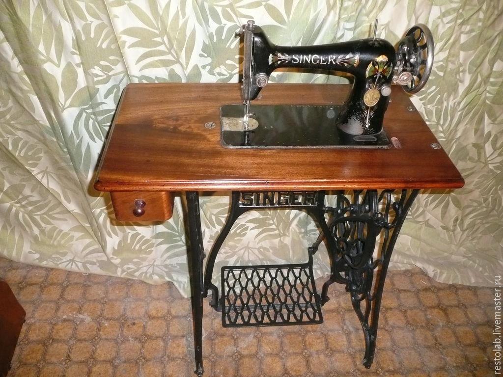Реставрация швейной машинки зингер своими руками 12