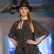 Одежда handmade. Livemaster - original item Evening dress chiffon drape