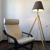 Для дома и интерьера ручной работы. Ярмарка Мастеров - ручная работа Торшер в скандинавском стиле. Handmade.