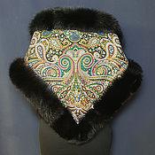 Аксессуары handmade. Livemaster - original item Pavloposadsky scarf