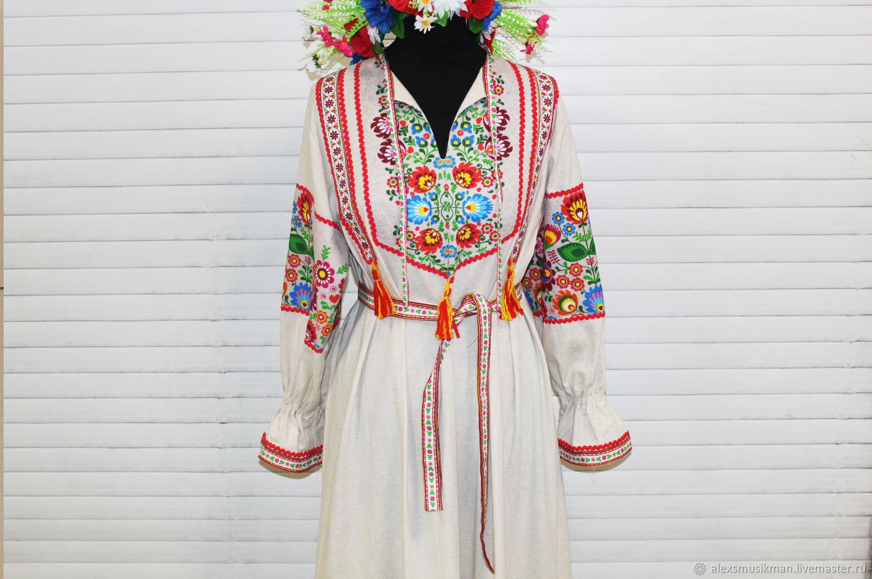 Русская народная вышивка аппликация