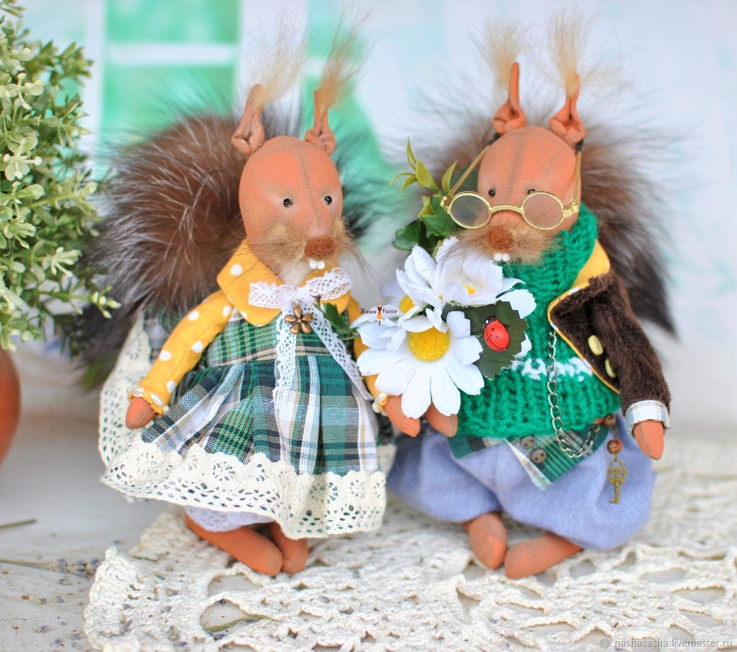 Couple of squirrels, Stuffed Toys, Moscow,  Фото №1
